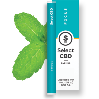 Select - Focus Vape Pen - Spearmint (250mg CBD)