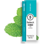 Select - Focus Vape Pen - Peppermint (250mg CBD) - Select - The CBD Market - Buy CBD Online