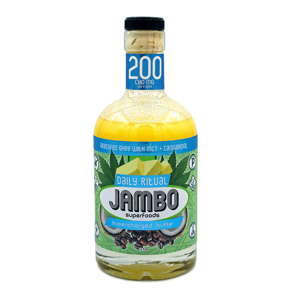 Jambo - Daily Ritual - Unflavored (200mg CBD) - Jambo Superfoods - The CBD Market - Buy CBD Online