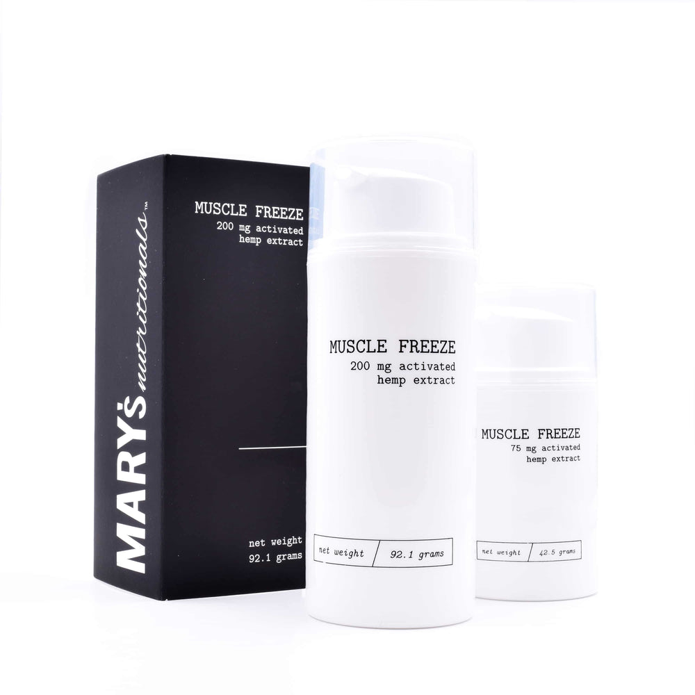 Mary's - Muscle Freeze - Large (200mg CBD)