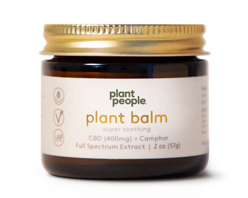 Plant People - Plant Balm (400mg CBD)