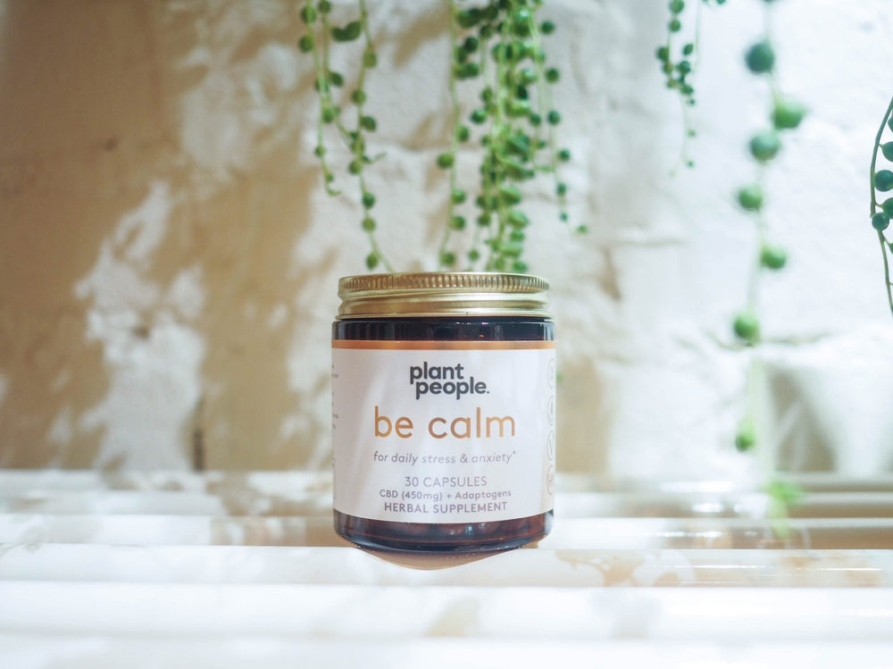 Plant People - Be Calm Capsules (450mg CBD) - Plant People - The CBD Market - Buy CBD Online
