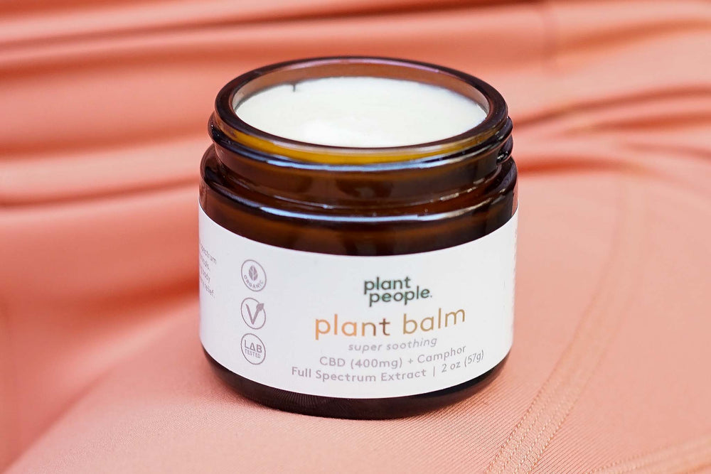 Plant People - Plant Balm (400mg CBD) - Plant People - The CBD Market - Buy CBD Online