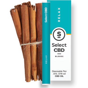 Select - Relax Vape Pen - Cinnamon (250mg CBD)
