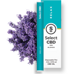 Select - Relax Vape Pen - Lavender (250mg CBD)