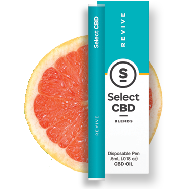 Select - Revive Vape Pen - Grapefruit (250mg CBD)