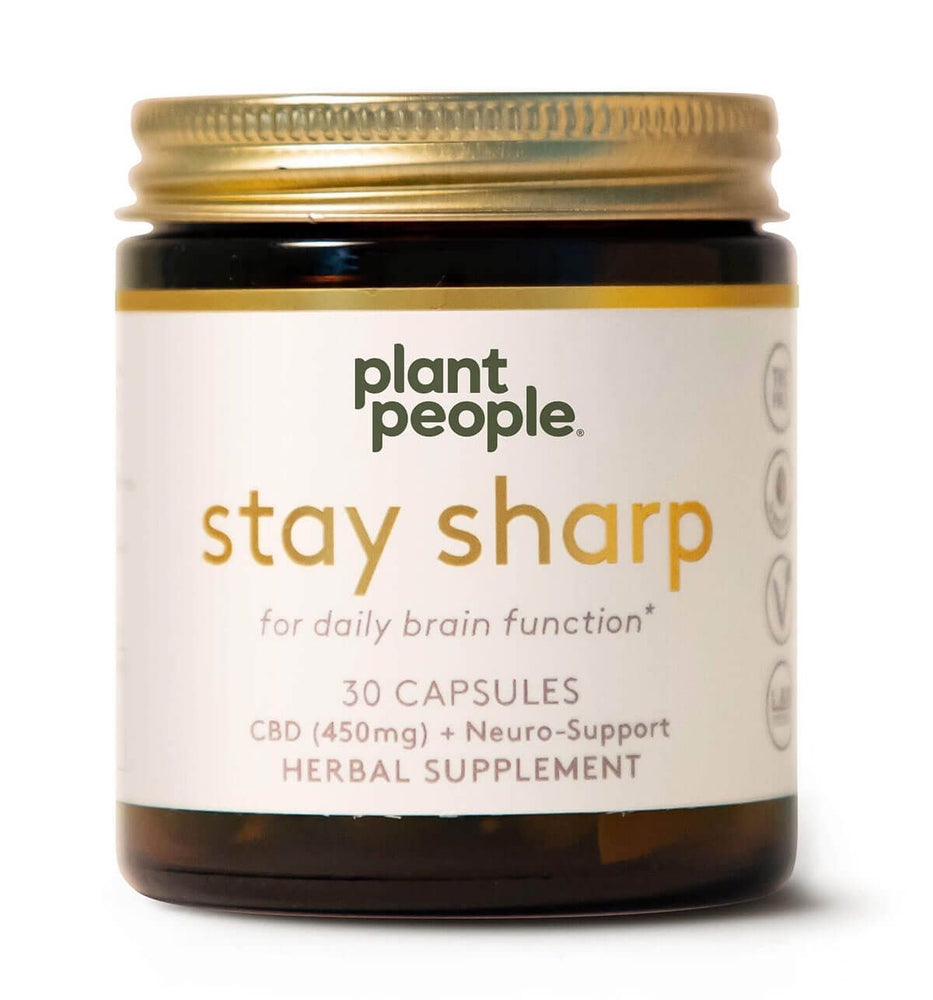 Plant People - Stay Sharp (450mg CBD) - Plant People - The CBD Market - Buy CBD Online