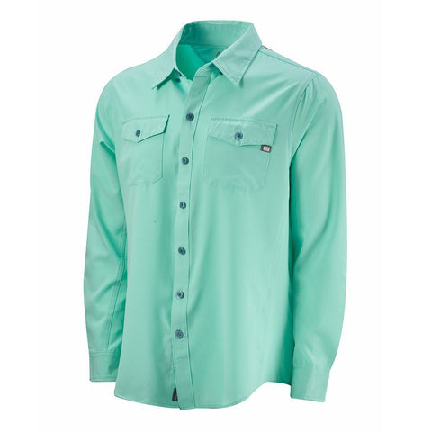 Cabo Performance Fishing Shirt (50+ UPF) - Lucite Green