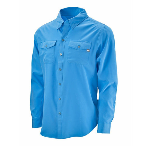 Cabo Performance Fishing Shirt (50+ UPF) - Marina Blue