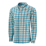 Coastal Performance Sport Shirt (50+ UPF) - Hawaiian Blue