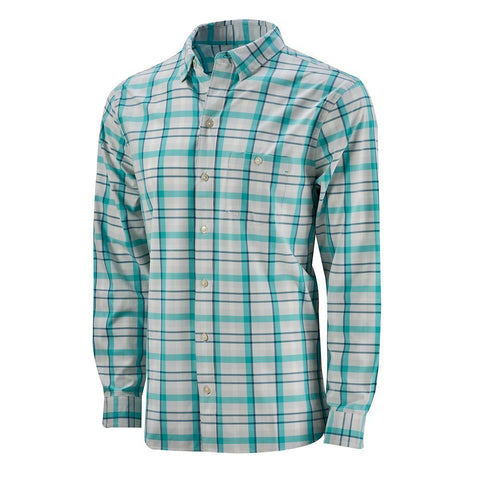 Coastal Performance Sport Shirt (50+ UPF) - Pool Green