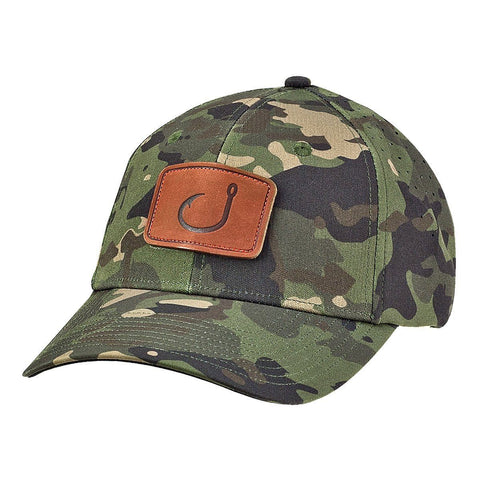 Delta Performance Snapback Hat - Green Camo