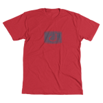 Distressed Iconic Fishing T-Shirt - Red Heather