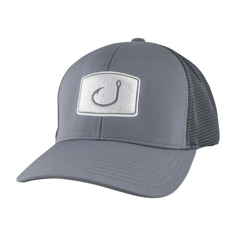 Flexfit Fitted Mesh Hat - Charcoal