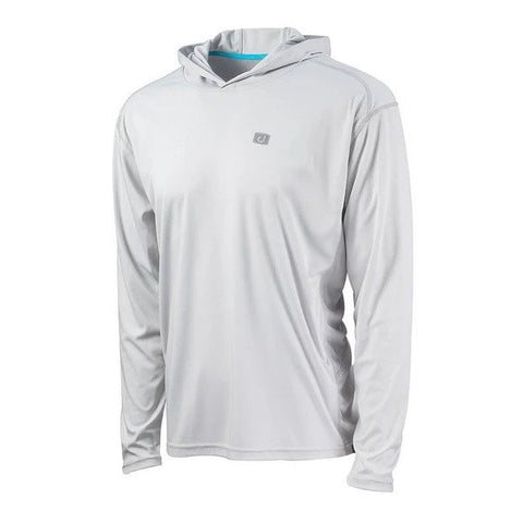 Kinetic Hooded AVIDry 50+ UPF - Glacier Grey
