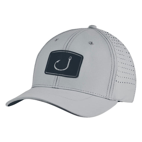 Alpha Performance Fitted Hat - Light Grey