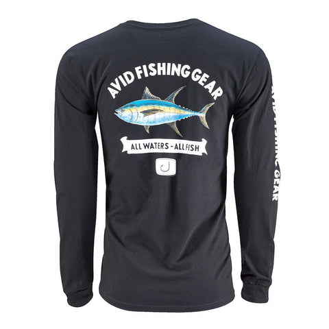 Tuna Mount Long Sleeve Shirt - Black