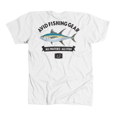 Tuna Mount T-Shirt - White