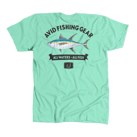 Tuna Mount T-Shirt - Mint