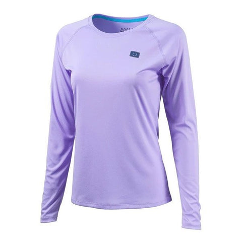Womens Core AVIDry Long Sleeve (50+ UPF) - Lavender