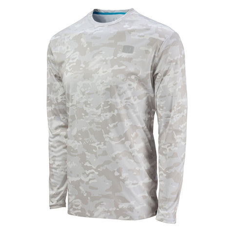 Youth Snow Camo AVIDry 50+ UPF