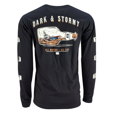 Dark And Stormy Long Sleeve - Black