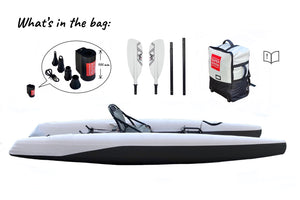 Super Kayak  - fast, stable, portable