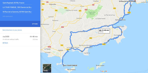 South of France Motorbike Tour - French Riviera