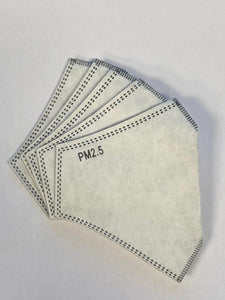 Replacement Filters for Antibacterial Face Mask (AB1001) - 5 for $7 or 10 for $13