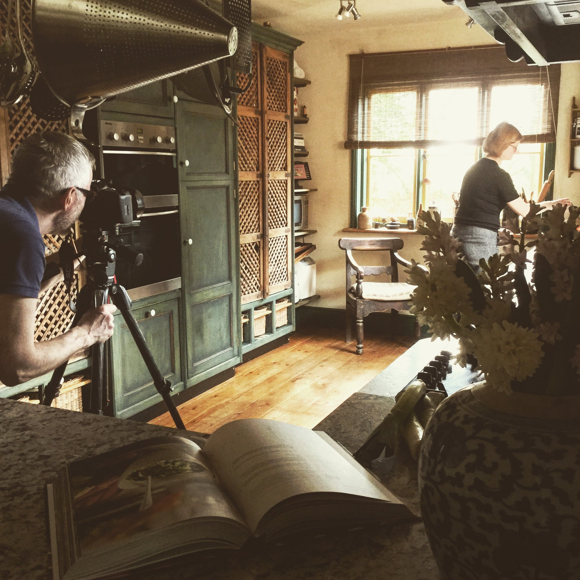 Homes and Antiques Magazine Shoot