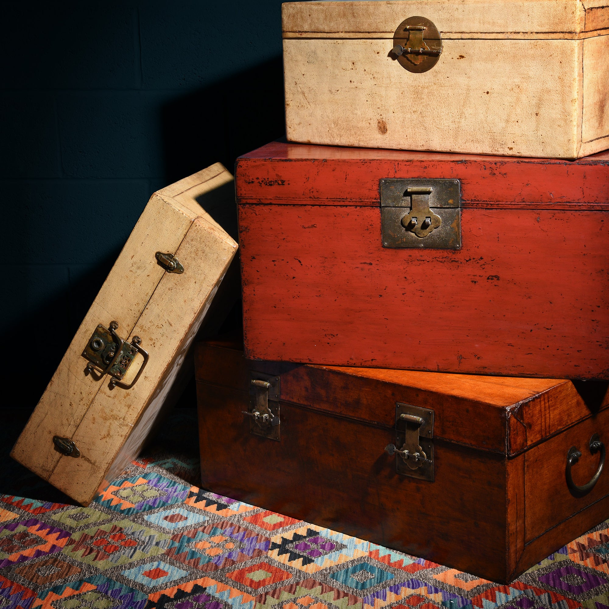 Chests & Trunks from India, China & Tibet