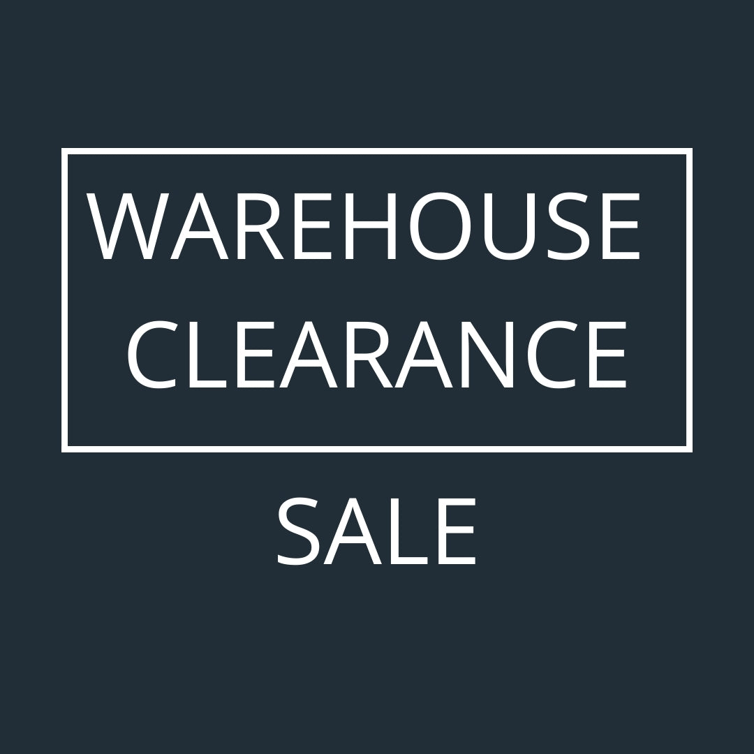 Warehouse Sale - UP TO 50% OFF!