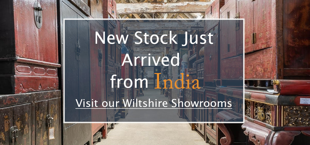 New Container of Indian Antique Furniture Arrived into our Warehouse.