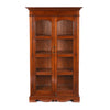Teak Glazed Book Cabinet - Ca 80 Yrs Old