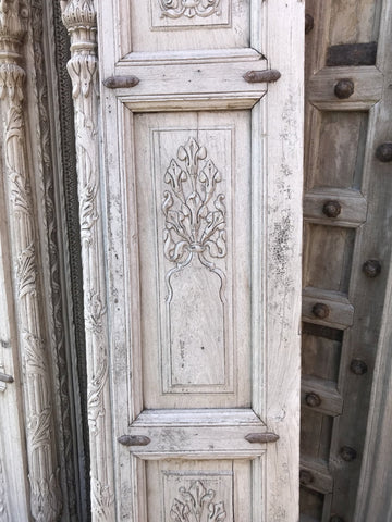 Carved Rosewood Arch from Haryana - Early 19thC