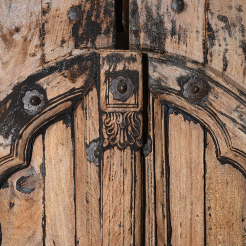 Carved Rosewood Window Shutters From Hyderabad - 18thC