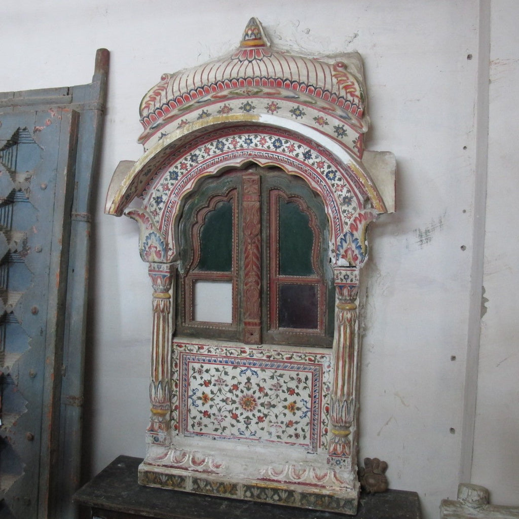 Painted Balcony From Shekavati - 19thC
