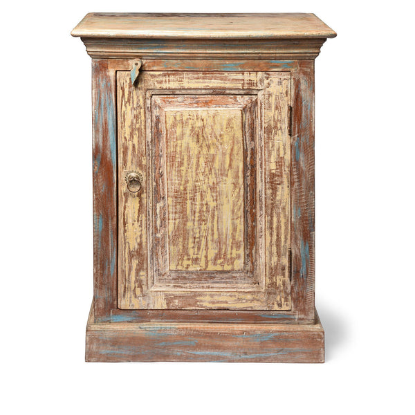 Bedside Cabinet Made From Reclaimed Teak
