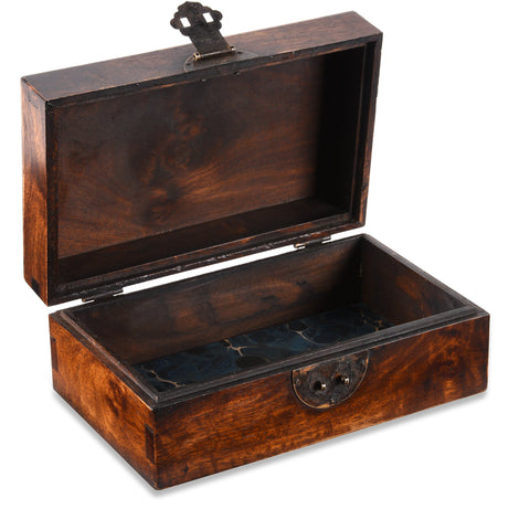 Keepsake Box Made From Burr Rosewood
