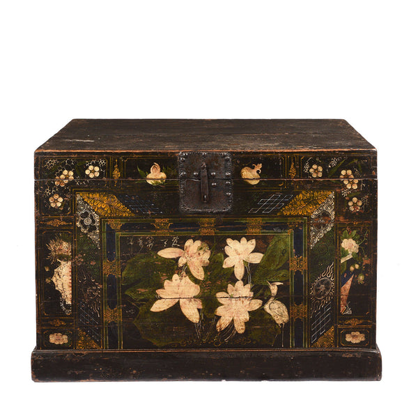 Painted Opera Chest From Shanxi - Ca 1900