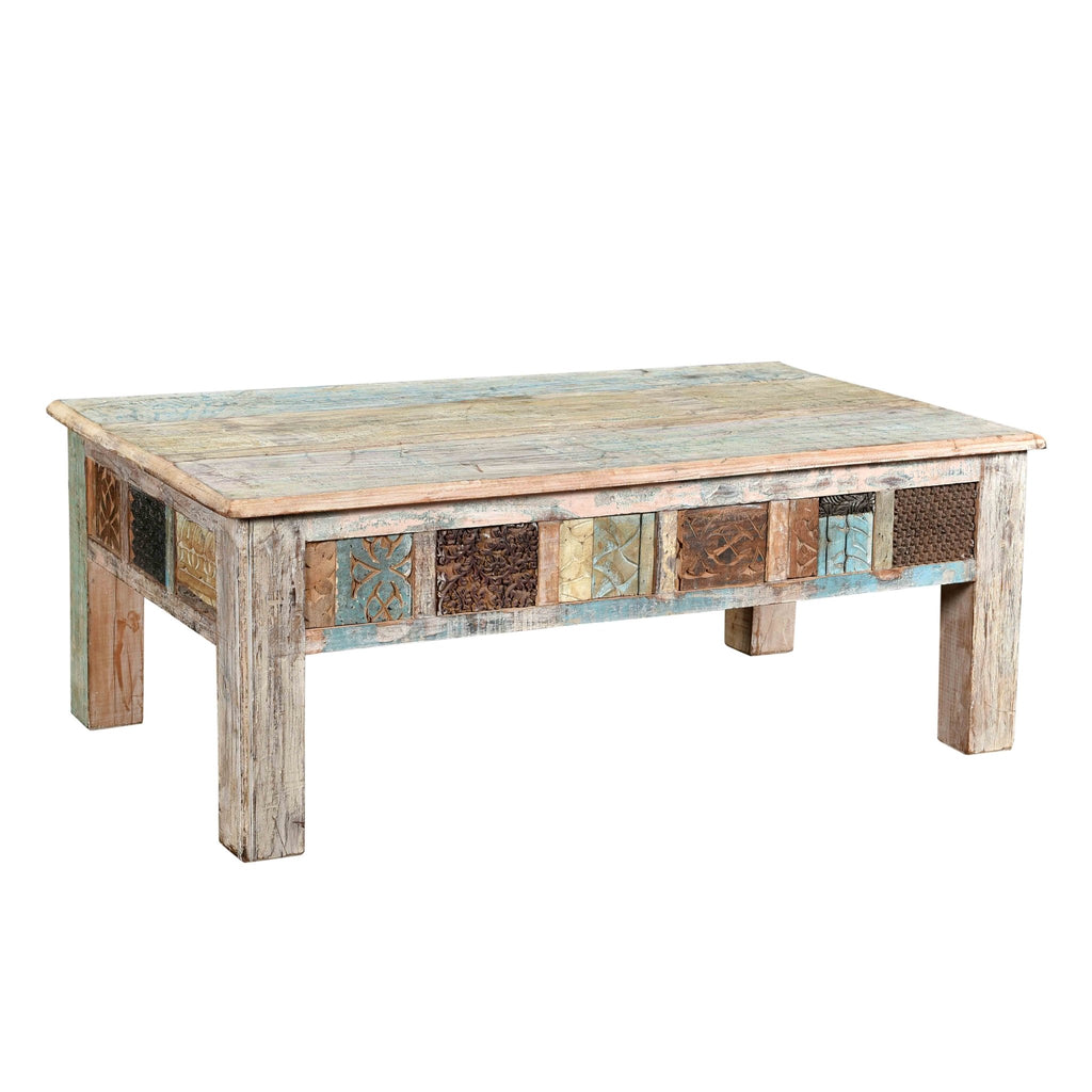 Coffee Table made from Old Printing Blocks
