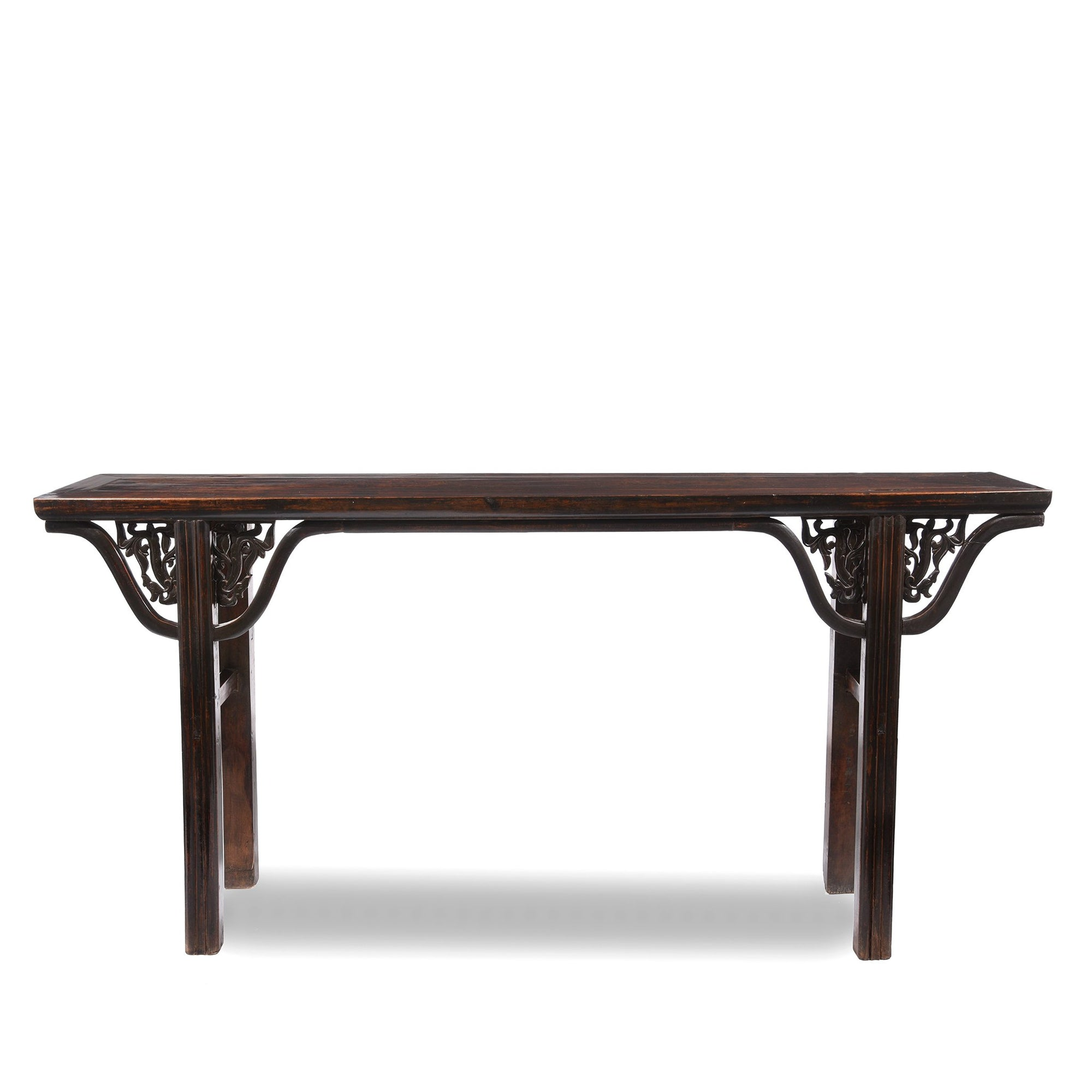 Dark Lacquer Walnut wood Chinese Altar Table - 19thC | Indigo Oriental Antiques