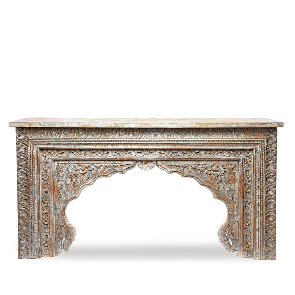 Painted Indian Console Table