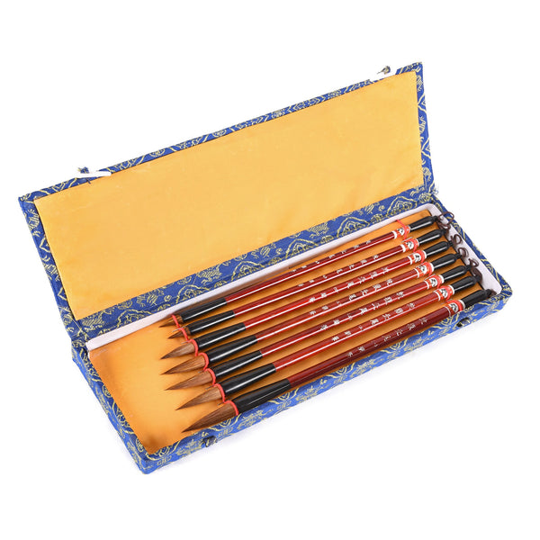 Boxed Set Of Calligraphy Brushes