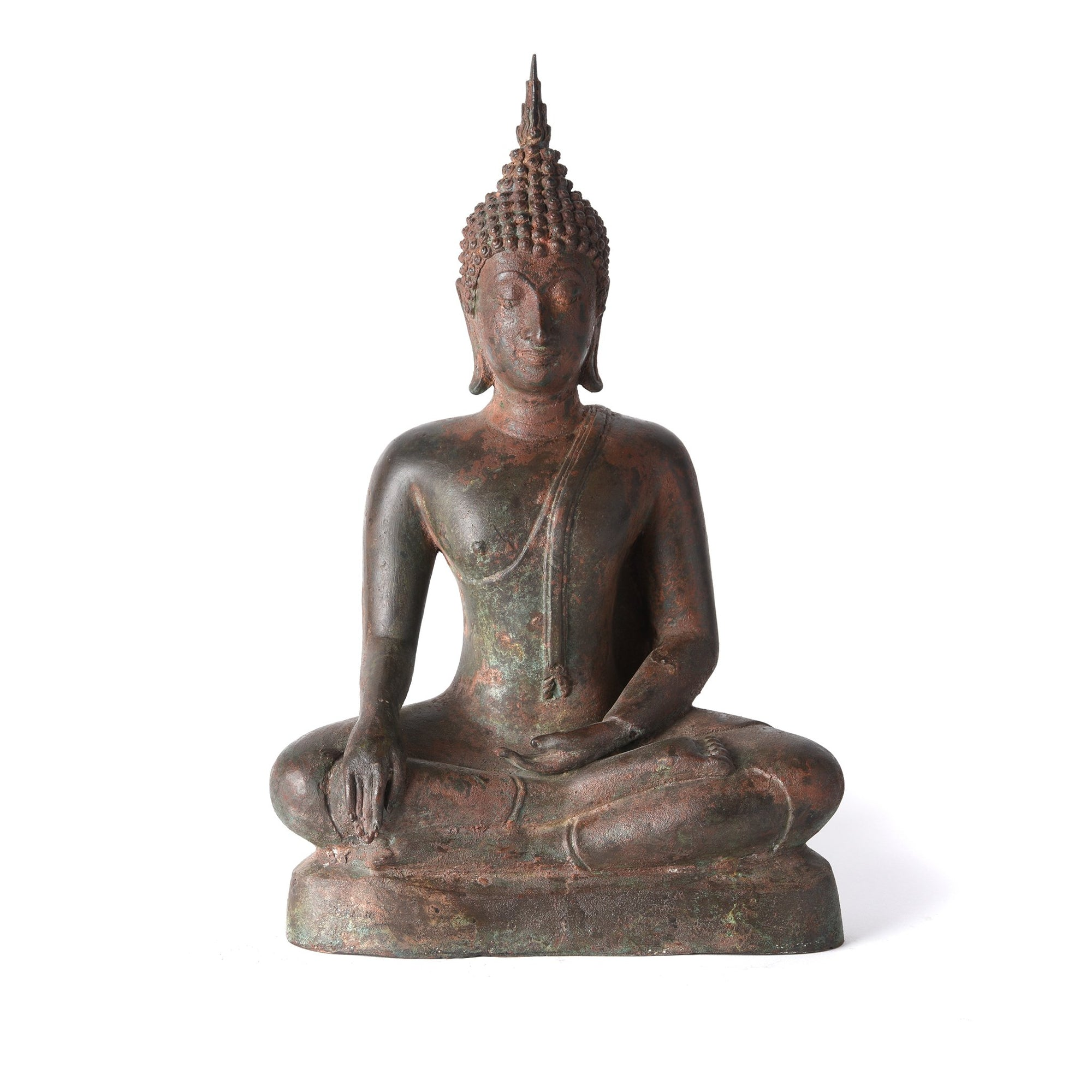 Bronze Buddha From Thailand | Indigo Antiques