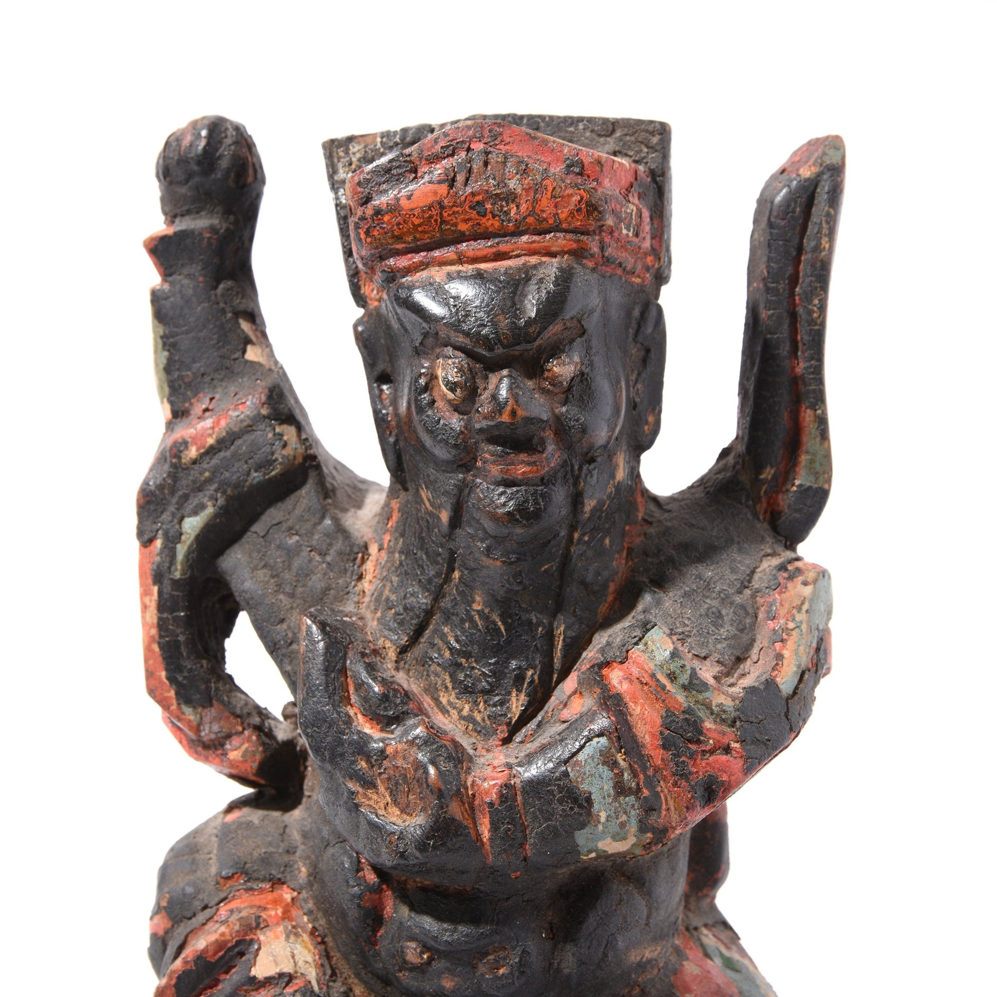 Chinese Immortal or Ancestor Figure - 19thC | Indigo Antiques