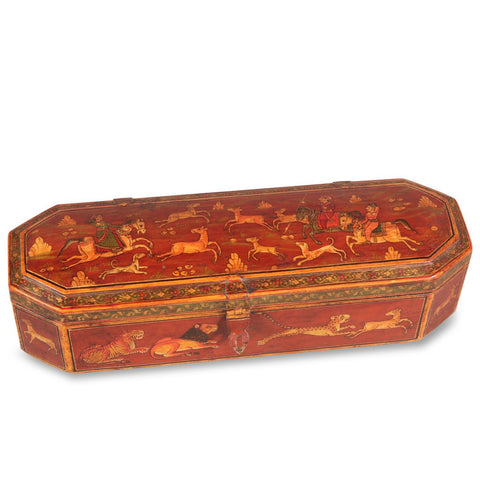 Rajasthani Hand Painted Pen Box