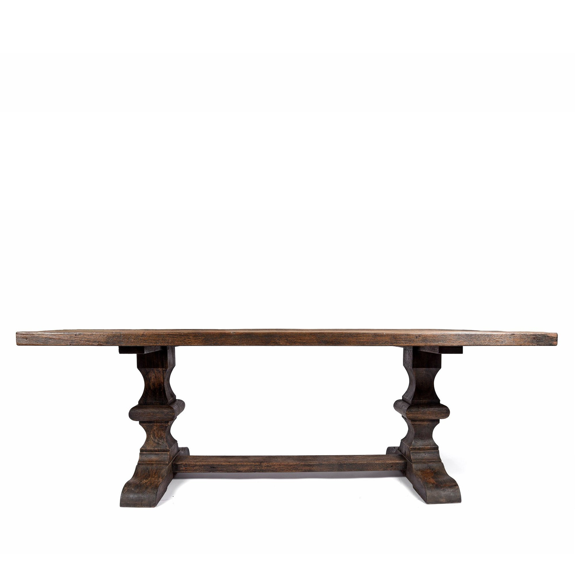 6- 8 Seater Refectory Dining Table - Reclaimed Teakwood | Indigo Oriental Antiques
