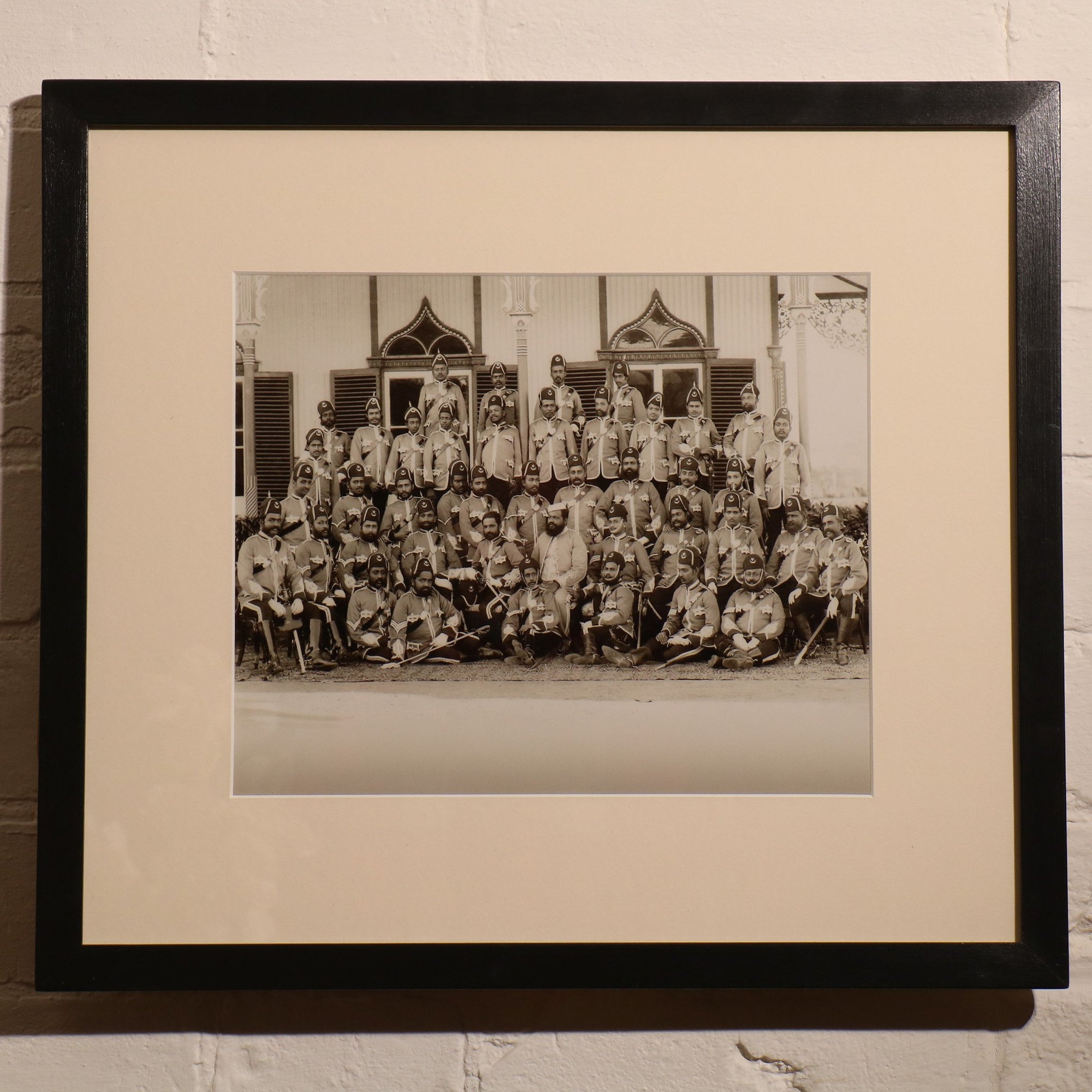 Framed Photo of Colonial India | Indigo Oriental Antiques