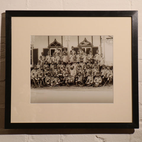 Framed Photo of Colonial India